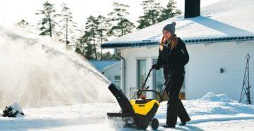 Снегоуборщик для снега