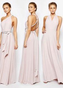 8345b967a08 ... то длинноватое платье-трансформер подойдет для вас больше. А в легком  варианте пригодится и в отпуске. Длиннющий невесомый сарафан понадобится на  пляже.